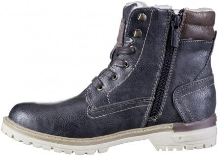 MUSTANG Jungen Winter Synthetik Tex Boots graphit, Warmfutter, warme Decksohle - Vorschau 3