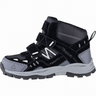 Kapppa Bliss Mid II Tex K coole Jungen Synthetik Tex Boots black, Meshfutter, herausnehmbares Fußbett, 3741126/38