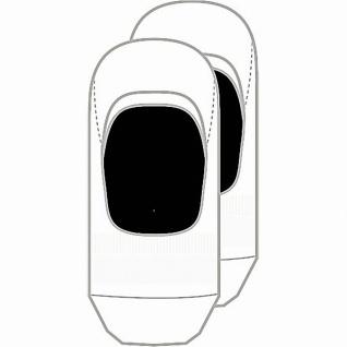 Camano Comfort Footie in Box unisex NOS white, 2er Pack Damen, Herren Footies