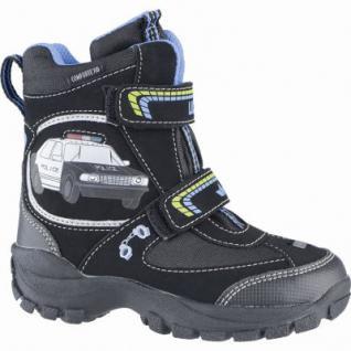 Lico Police V Blinky Jungen Synthetik Winter Tex Boots schwarz, Warmfutter, warme Einlegesohle, 4539113
