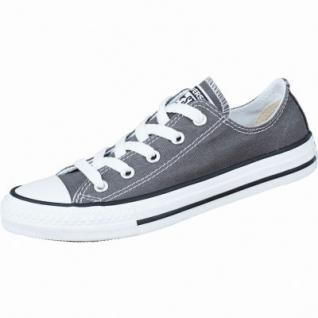 Converse Chuck Taylor All Star Low charcoal, Mädchen, Jungen Chucks grau, 3334142