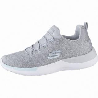 Skechers Dynamight coole Damen Jersey Sneakers, Jogging Schuhe light grey, Skechers Memory Foam-Fußbett, 4142115/36