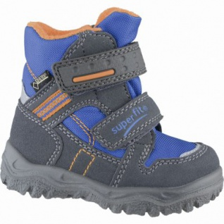 Superfit Jungen Winter Synthetik Tex Boots stone, Warmfutter, warmes Fußbett, 3239107/26