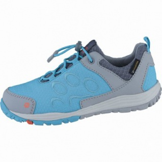 Jack Wolfskin Portland Texapore Low K Mädchen Synthetik Outdoorschuhe lake blue, Texapore Ausstattung, 4438162