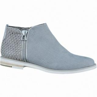 Marco Tozzi cooler Damen Synthetik Sommer Chelsea Boot taupe metallic, Feel me-Decksohle, 1636101/36