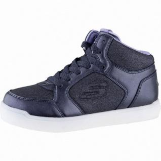 Skechers E-Pro Glitter Glow Jungen Synthetik Sneakers navy, 6 cm Schaft, Einlegesohle, LED Farbwechsel, 3341108/34