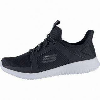 Skechers Ultraflex Jaw Dropper coole Damen Mesh Sneakers black, Air-Cooled-Memory-Foam-Fußbett, 4239160/41