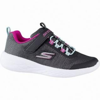 Skechers GO Run 600 Sparkle Runner coole Mädchen Mesh Sneakers black, Meshfutter, herausnehmbare Einlegesohle, 4241152