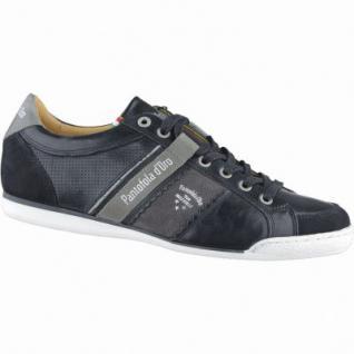 Pantofola d Oro Savio Romagna Uomo Low Herren Leder Sneakers black, Lederfutter, 2138205/45