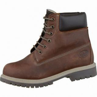 Dockers coole Jungen Leder Winter Boots cognac, Warmfutter, Profilsohle, 3737111