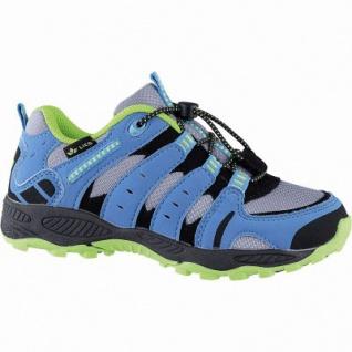 Lico Fremont Jungen Nylon Trekking Schuhe grau, Textilfutter, auswechselbare Textil Einlegesohle, 3342101/25