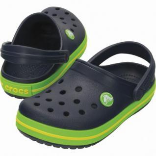 Crocs Crocband Kids Jungen Crocs navy, verstellbarer Fersenriemen, 4338123/24-25 - Vorschau 2