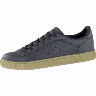 Kappa Meseta RB modische Herren Synthetik Sneakers black, weiche Sneaker Lauf...