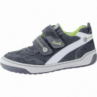Lurchi Bruce modische Jungen Leder Sneakers jungle, breitere Passform, Lurchi Leder Fußbett, 3340120