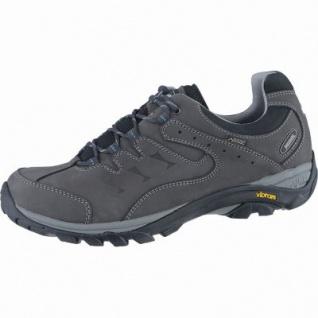 Meindl Caracas GTX Herren Leder Outdoor Schuhe anthrazit, Air-Active-Fußbett, 4438169/11.5