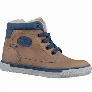 Be Mega Jungen Synthetik Winter Tex Sneaker Boots rust, molliges Warmfutter, weiches Fußbett, 3737208/35