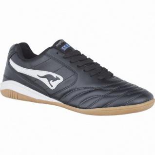 Kangaroos K-Yard 3021 Damen, Herren Synthetik Sportschuhe, Sneaker schwarz, 4038105/45