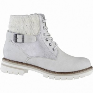 Marco Tozzi coole Damen Synthetik Winter Boots ice, Warmfutter, warme Decksohle, 1639347/37