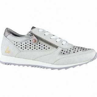 bruno banani modische Damen Synthetik Sneakers grey, weiche Decksohle, 1240159