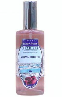 Mineral Beauty System Körperöl Granatapfel, mit Totes Meer Wasser, Mineralien, Avocadol, Mandelöl, Jojobaöl, 125 ml=116, 80 EUR/1