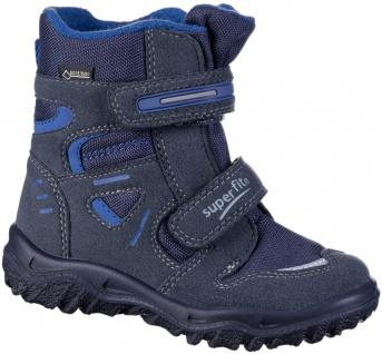 SUPERFIT Jungen Winter Boots blau, Goretex Ausstattung, mittlere Weite, molli...