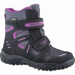 Superfit Mädchen Synthetik Winter Tex Boots black, molliges Warmfutter, warmes Fußbett, 3739142/28