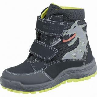 Ricosta Grisu Jungen Winter Synthetik Tex Boots schwarz, breitere Passform, molliges Warmfutter, warmes Fußbett, 3737158
