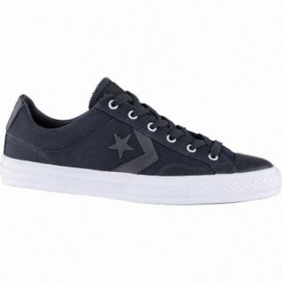 Converse Star Player coole Herren Canvas Sneakers black, Meshfutter, 2139114/44.5