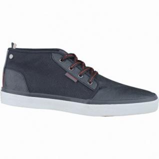 Jack&Jones JFW Major Mixed Mid Sneaker Herren Synthetik Sneakers anthracite, leichtes Check-Futter, 2537166