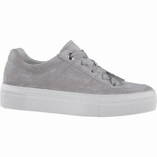 Legero coole Damen Komfort Leder Sneakers alluminio, herausnehmbares Legero L...