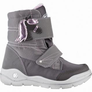 Ricosta Garel Mädchen Winter Synthetik Tex Boots meteor, waschbar, 12 cm Schaft, Warmfutter, angerautes Fußbett, 3741256/30