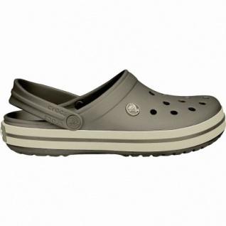 Crocs Crocband leichte Damen, Herren Crocs espresso, Croslite Foam-Fußbett, Belüftungsöffnungen, 4340101/39-40