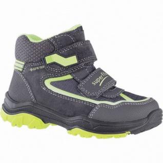 Superfit Jungen Winter Synthetik Gore Tex Boots grau, angerautes Futter, warmes Fußbett, 3741149