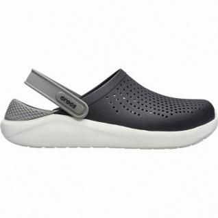 Crocs Lite Ride Clog superweiche + leichte Damen, Herren Clogs black, Massage Fußbett, 4342107/36-37