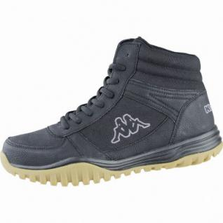 Kappa Brasker Mid modische Herren Nylon Synthetik Boots black, Kappa Fußbett, 2539101