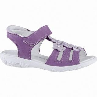 Ricosta Chica modische Mädchen Nubukleder Sandalen candy, mittlere Weite, Ricosta Fußbett, 354017032