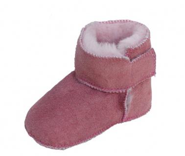 warme Baby Lammfell Boots mit Klettverschluss rosa, Gerbung ohne schädliche S...