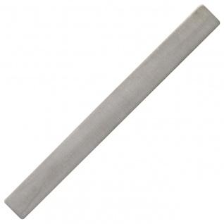 Krawattenschieber 925 Sterling Silber rhodiniert matt