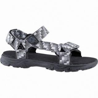 Jack Wolfskin Seven Seas 2 Sandal B Jungen Polyester Sandalen pebble grey, Neoprenpolster-Pads, 3542179/30