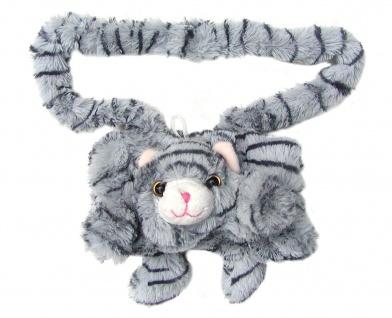 niedlicher warmer Kinder Muff Katze aus Microfaser für warme Kinder Hände, wa...
