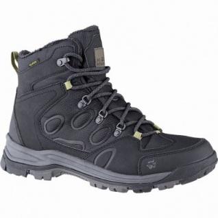 Jack Wolfskin Cold Terrain Texapore Mid Men Herren Synthetik Outdoor Boots black, Fleecefutter, bis -20 Grad, 4441176/12.0