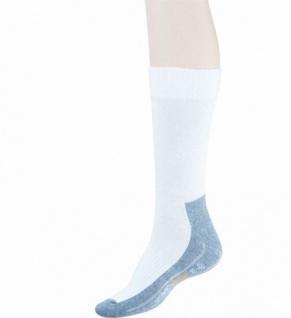 Camano 2er Pack Damen, Herren Sport Socken weiß, Bund ohne Gummidruck, 6535101/39-42