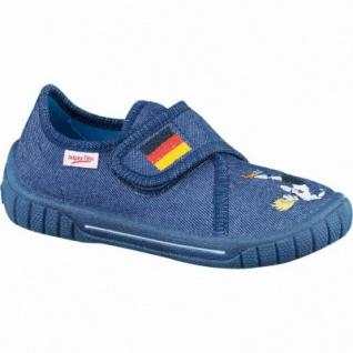 size 40 f49ff e99d8 Superfit Jungen Textil Sommer Hausschuhe mit Fußball ocean, Superfit  Fußbett, 3836104/35
