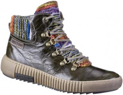JOSEF SEIBEL Maren 06 Damen Leder Boots olive, molliges Warmfutter, warme Dec...