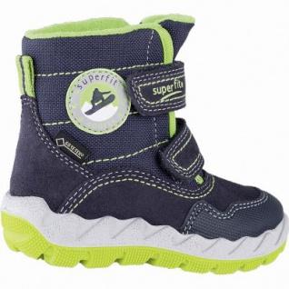 Superfit Jungen Winter Leder Tex Boots blau, mittlere Weite, molliges Warmfutter, warmes Fußbett, 3241107 - Vorschau 2