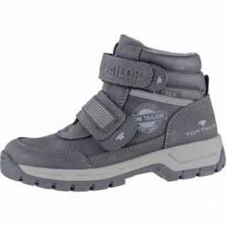 TOM TAILOR coole Jungen Synthetik Winter Boots black, Warmfutter, weiches Fußbett, 3739213