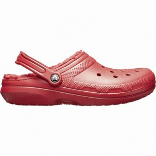 Crocs Classic Lined Clog warme Damen Winter Clogs pepper, Warmfutter, flexible Laufsohle, 4341105/41-42