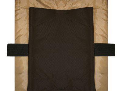 Heitmann Felle Eisbärchen kleiner Baby Lammfell Winter Fußsack schwarz waschbar, wind- und wasserabweisend, ca. 78x40 cm - Vorschau 2
