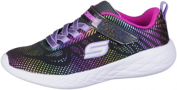 SKECHERS GO Run 600 Mädchen Sneakers black, Skechers Fußbett, Skechers Laufsohle