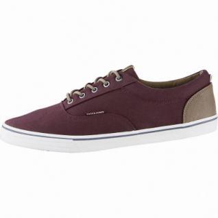 Jack&Jones JFW Vision coole Herren Canvas Sneakers port royal, Textilfutter, Sneaker Laufsohle, 2140118